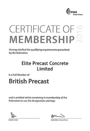 British Precast Member 2016