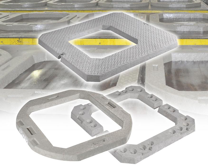 Concrete Seating Rings/Adjusting Units