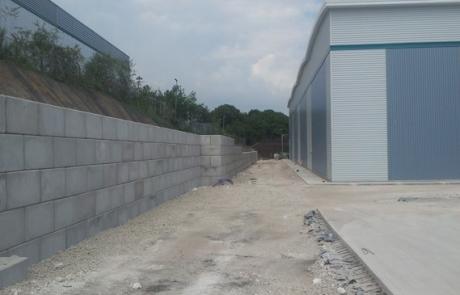 Legato retaining wall - Winvic 120