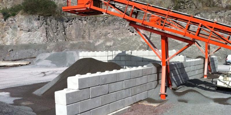 Legato (Lego) Blocks - Aggregate Industries Haughmond Hill