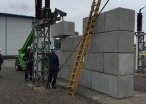 Western Power - Blast Protection Concrete Blocks 3