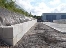 Legato Blocks - Retaining Wall 35