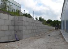 Legato retaining wall - Winvic 140