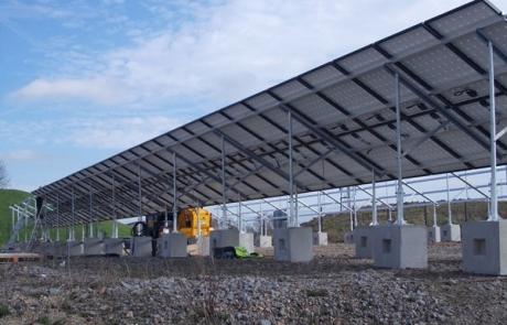 Solar Panel Foot Blocks - Duo Precast Blocks