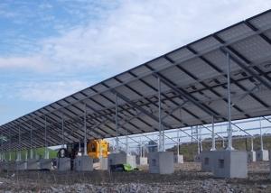 Solar Panel Blocks - Concrete Feet