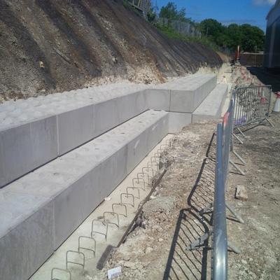 Legato Blocks - Retaining Wall 6