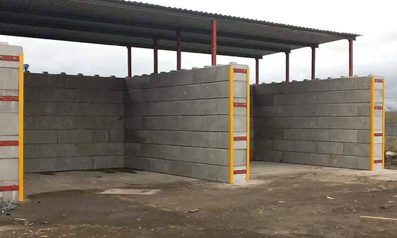 Duo - Lego style concrete blocks