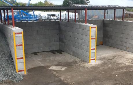 Duo Interlocking Precast Concrete Blocks