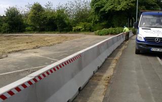 Jersey Barrier - installation