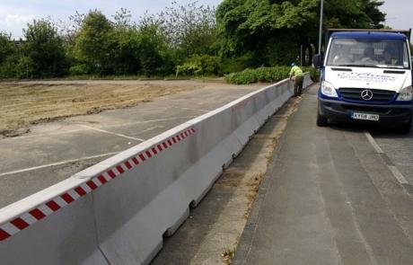 Interlocking Jersey Barrier