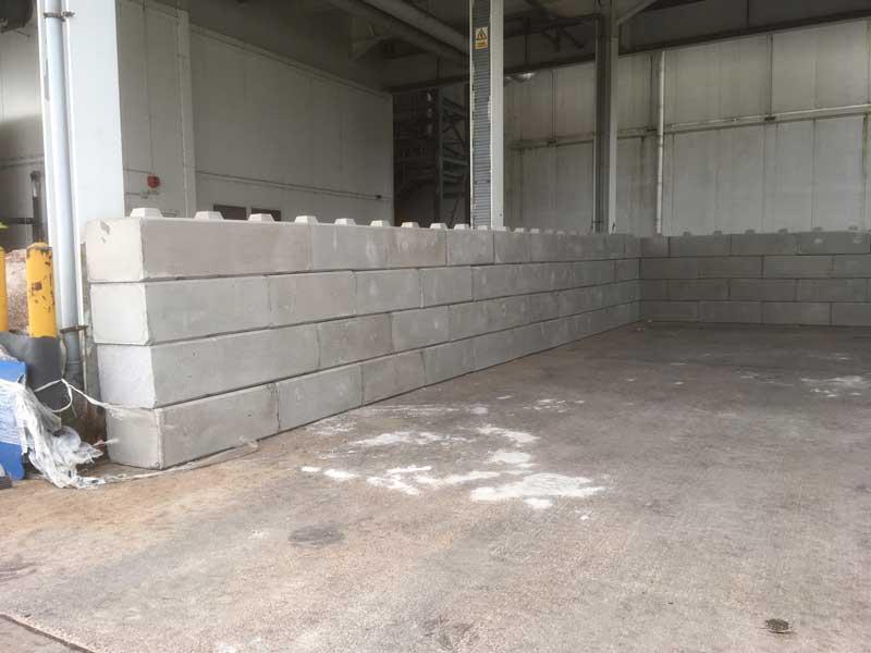 Legato blocks salt barn