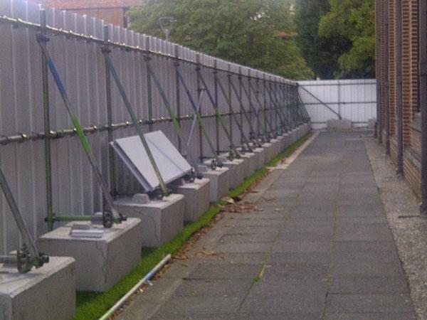 Hoarding Blocks Elite Precast Concrete