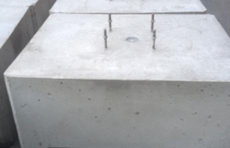 PV Blocks - Concrete Feet