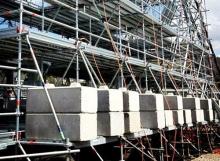 Scaffold Counterweights - Legato Interlocking Blocks
