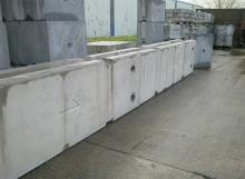 Temporary Vertical Concrete Barrier