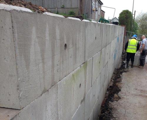 Precast Concrete Retaining Wall Blocks : Vee™ blocks retaining walls elite precast concrete