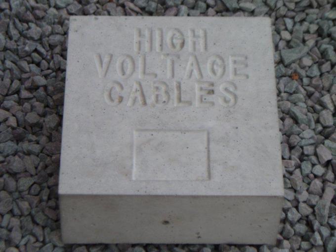 Precast Concrete Marker Blocks