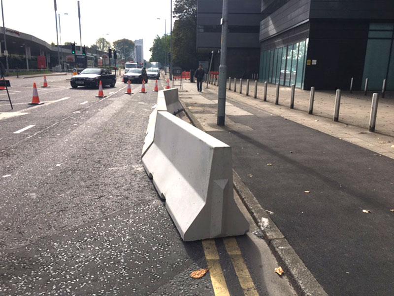Jersey barriers elite precast concrete