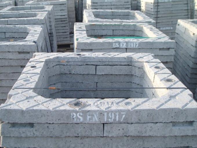 Precast Concrete Collar : Precast concrete frame adjusting rings seating