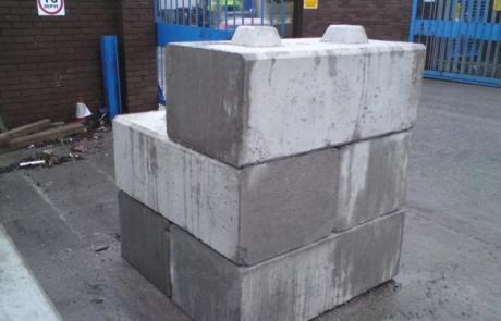Scaffold Counterweights - Duo Precast Blocks