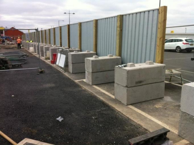 Hoarding Blocks - Ballast Blocks - Duo - Legato - Vee Blocks