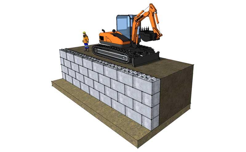 Earth Retention - Legato Blocks