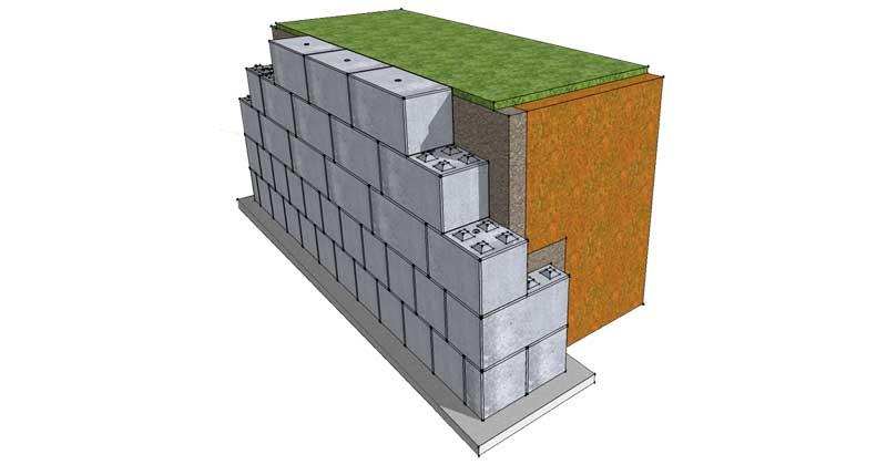 Retaining walls - Legato Blocks