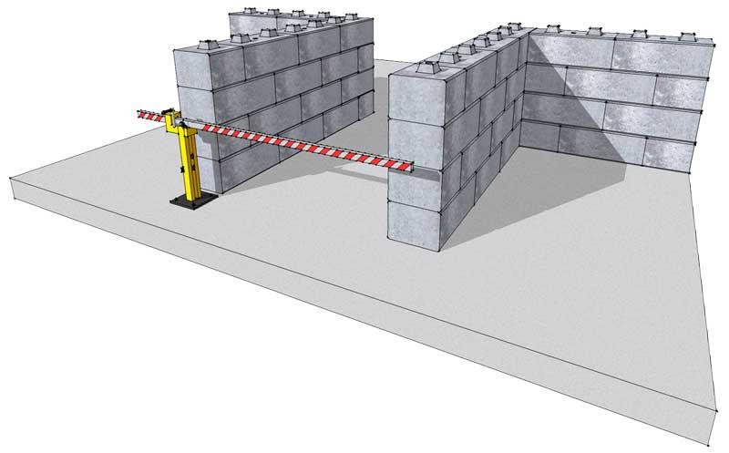 Security walls - Duo Blocks