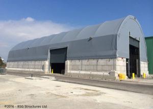 Legato concrete blocks for roof structures - Pelican Reach