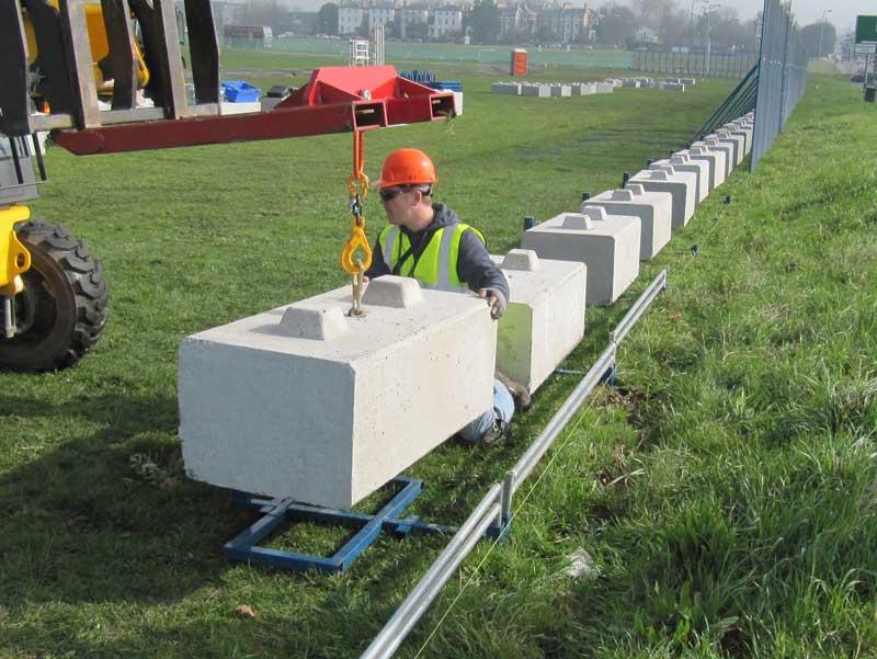 The advantages of using precast concrete blocks as for Cement block foundation