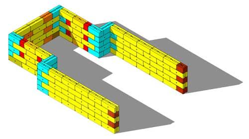 Material Storage Bays