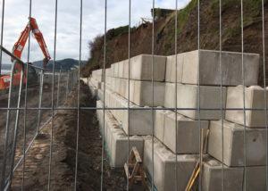 Legato Coastal protection, erosion wall